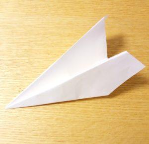 紙飛行機,よく飛ぶ,折り方,長方形