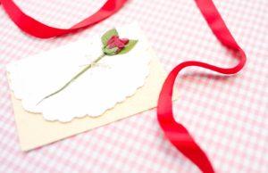 バレンタイン,メッセージカード,購入済,対処