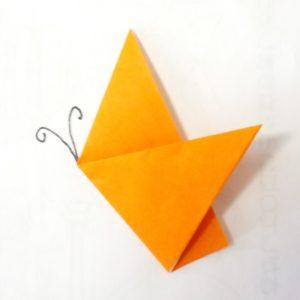 折り紙,蝶々,折り方,簡単