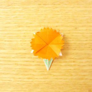 カーネーション,折り紙,折り方,簡単