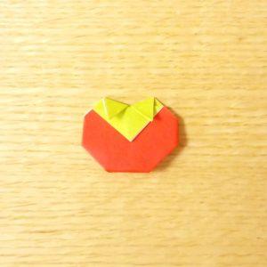 トマト,折り紙,簡単,折り方