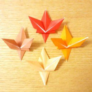 紅葉,秋,折り紙,もみじ