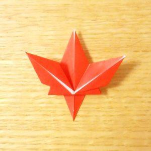 もみじ,折り紙,簡単,折り方