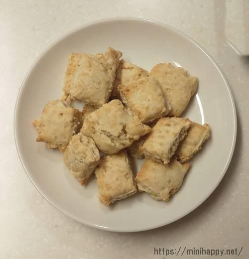ホットケーキミックス,クッキー,バターなし,簡単 ,材料3つ